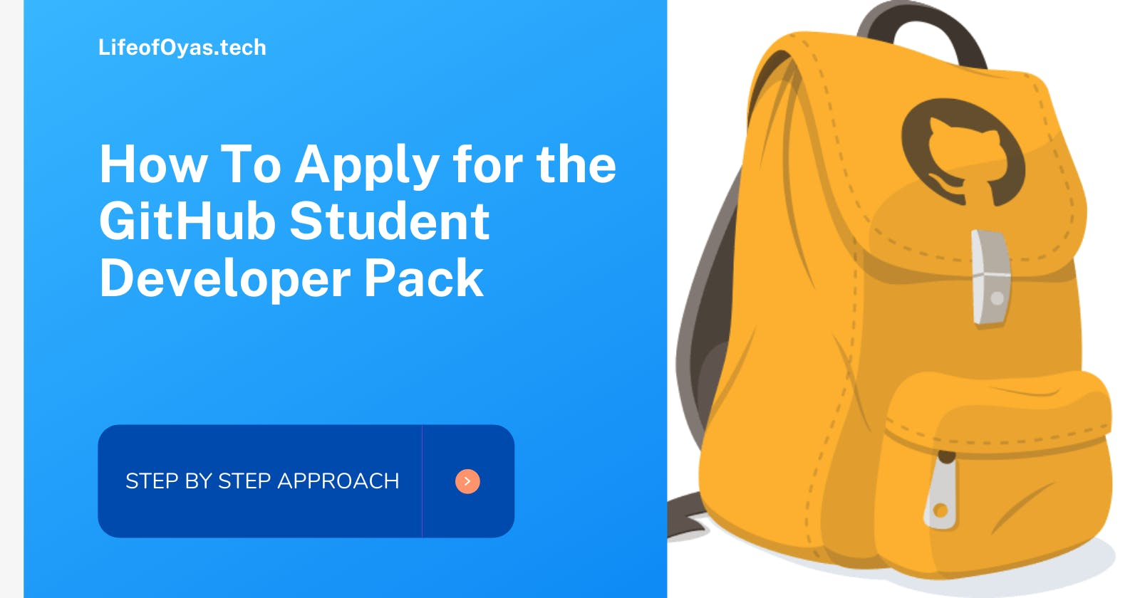 How To Apply For The Github Developer Student Pack
