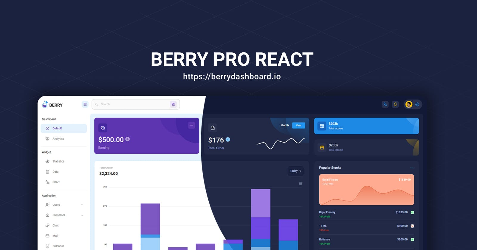 Berry React Pro out now