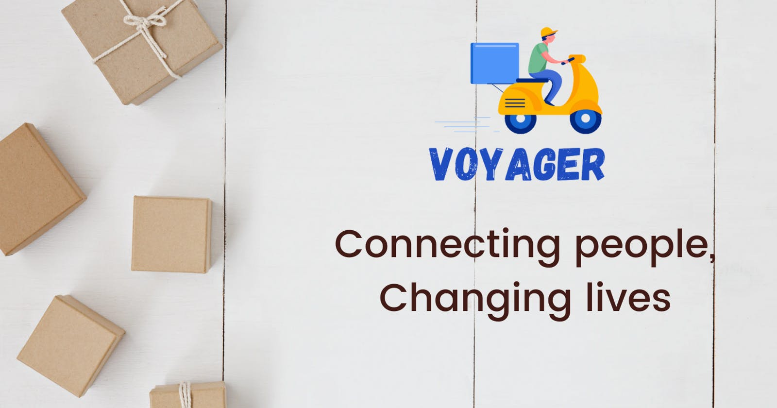 Introducing Voyagger - Connecting people, Changing lives