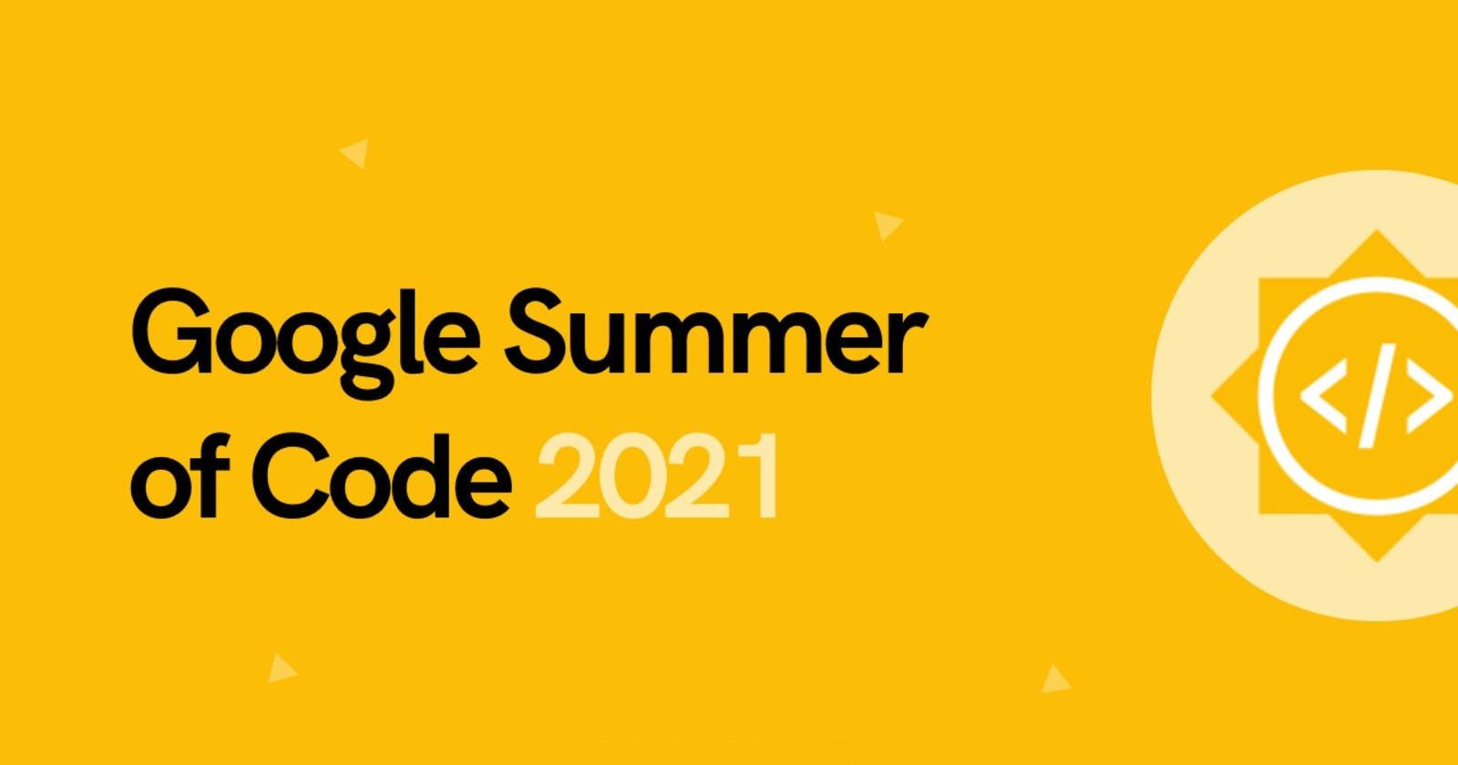 Google Summer of Code 2021  : Final Report