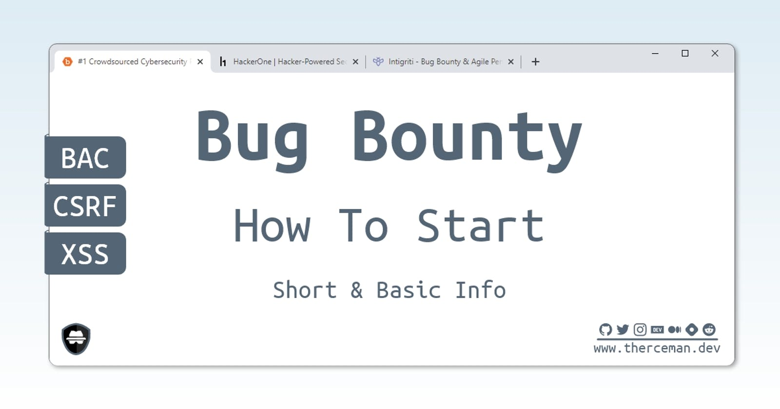 How To Start Bug Bounty Hunting
