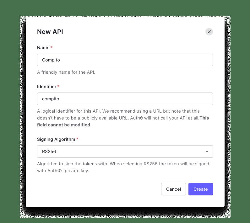 Auth0 new API