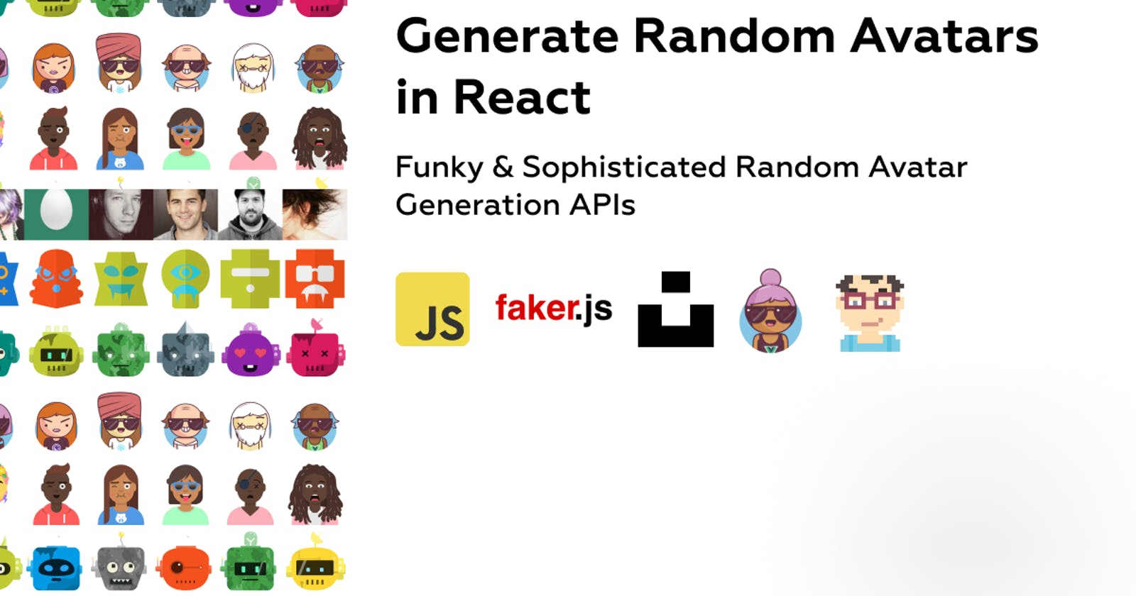 Generate Random Avatars in React