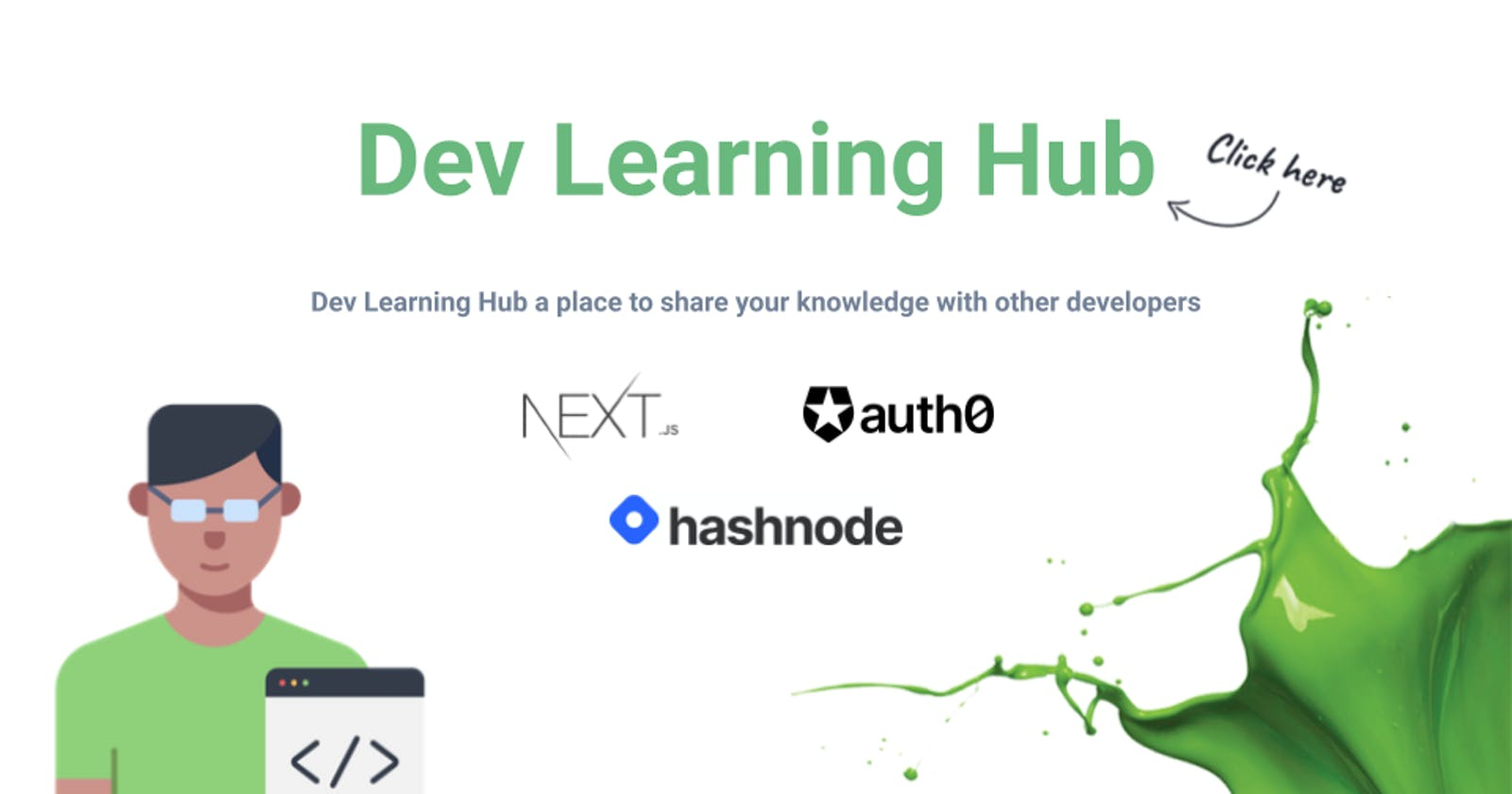 Dev Learning Hub - a place to share your knowledge with other developers