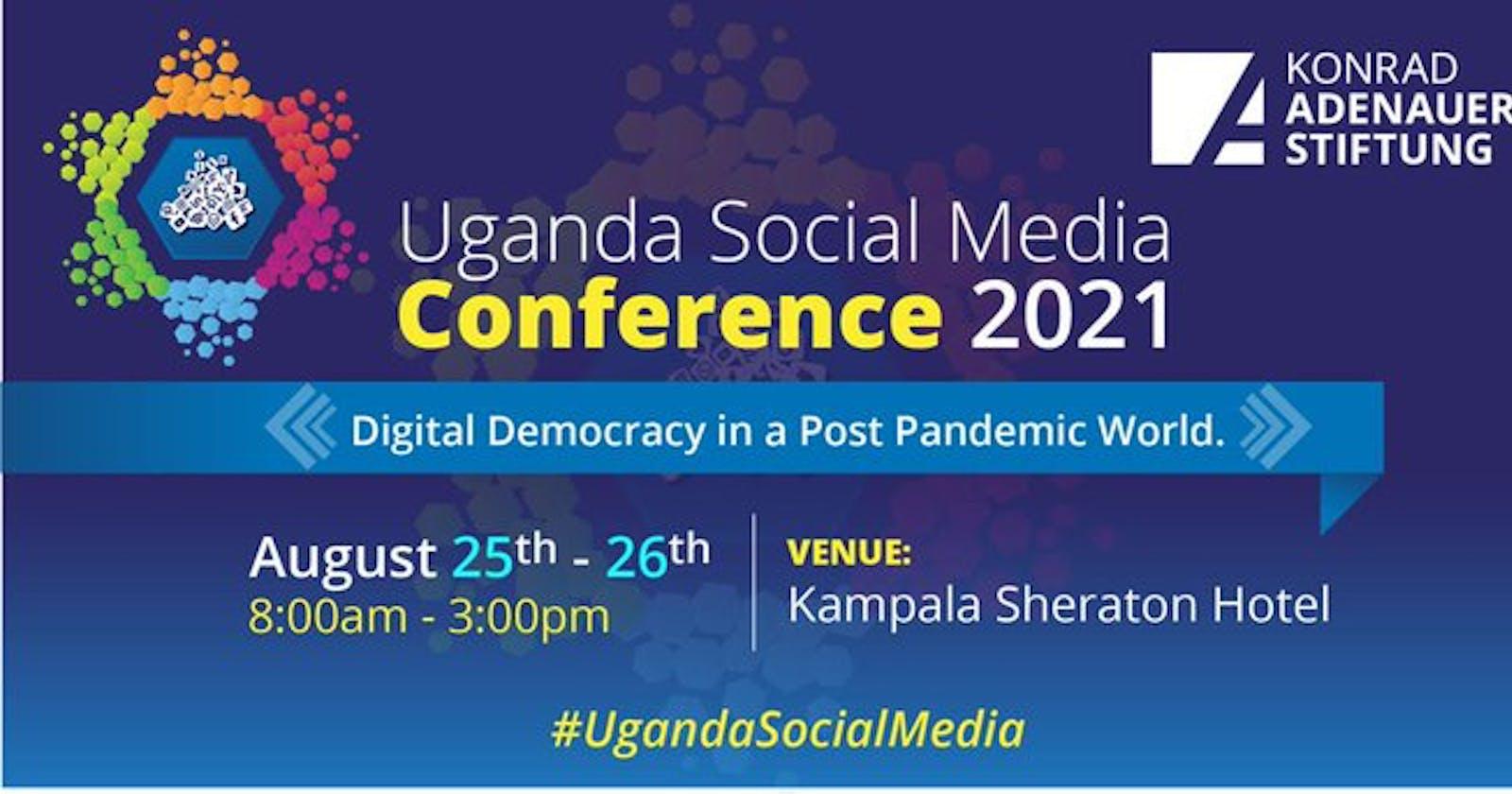 Two days to Uganda Social Media Conference!
