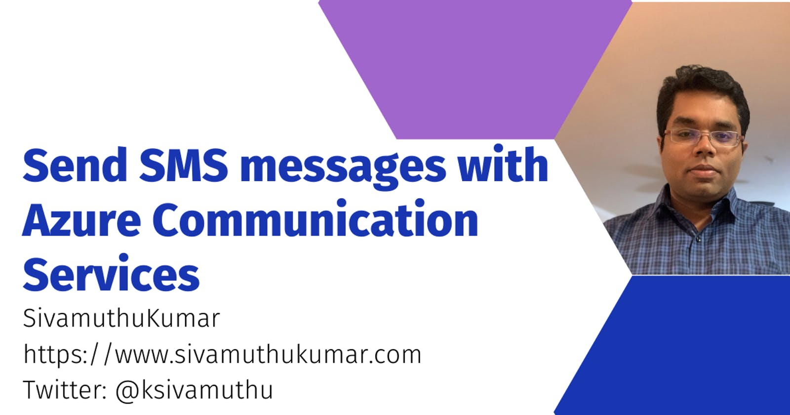 Send SMS messages with Azure Communication Services