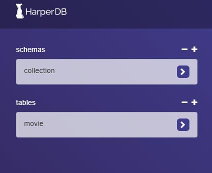 Studio-HarperDB - collection.png