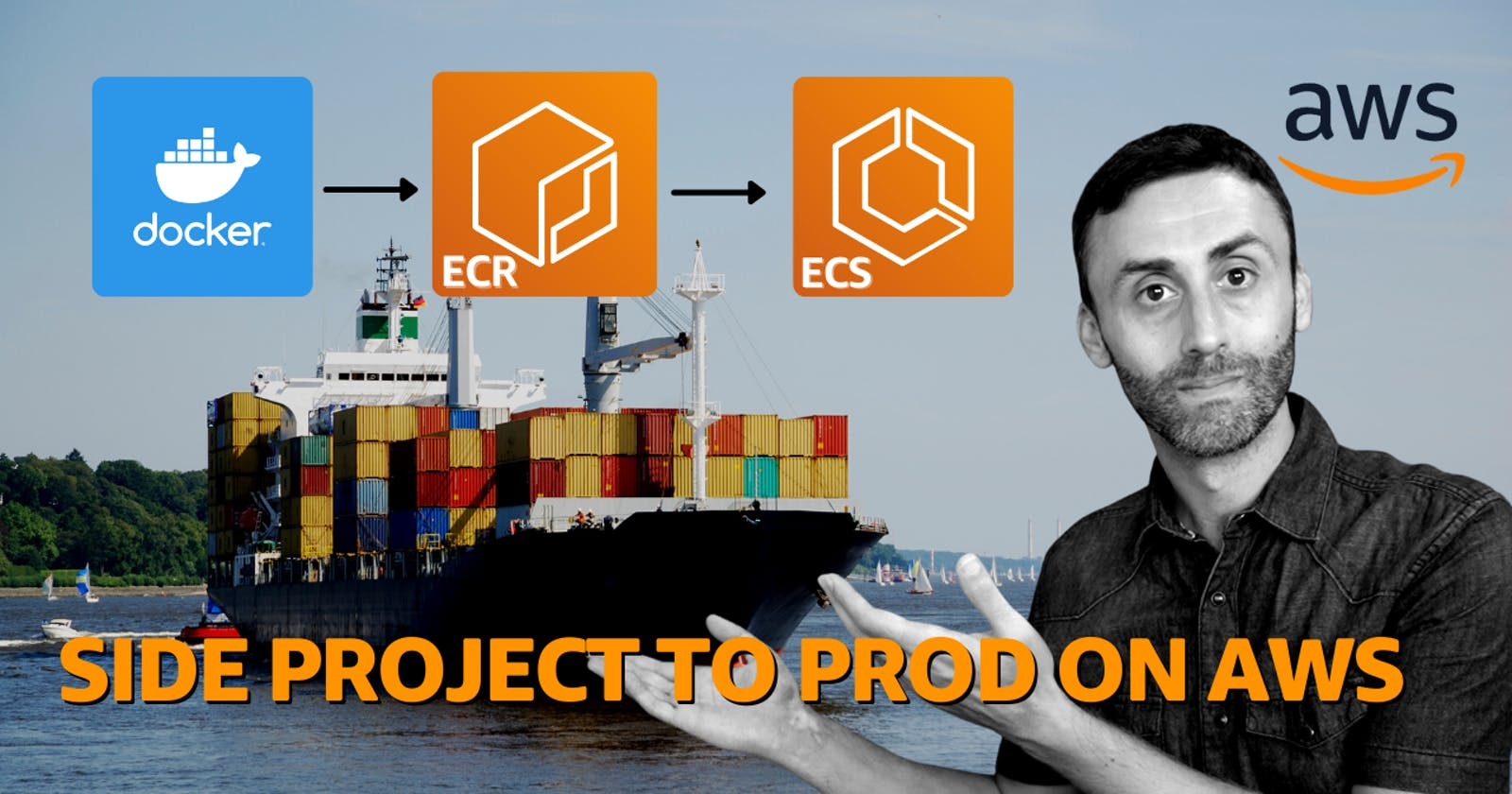 Take your side project to prod on AWS using ECR and ECS