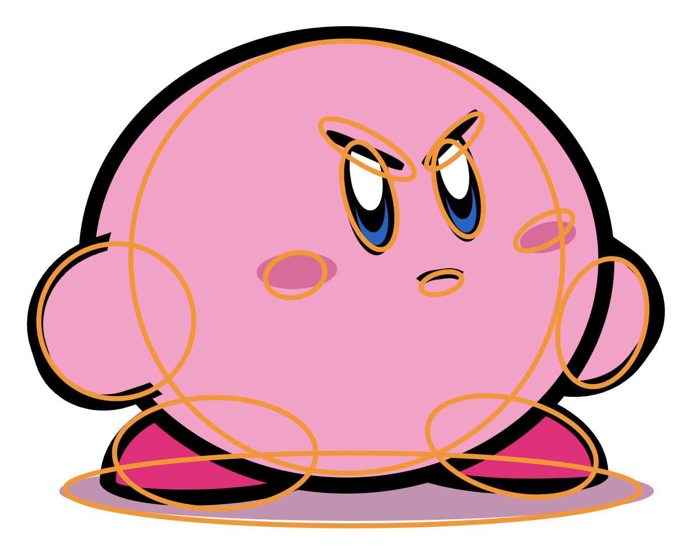 The shapes of Kirby