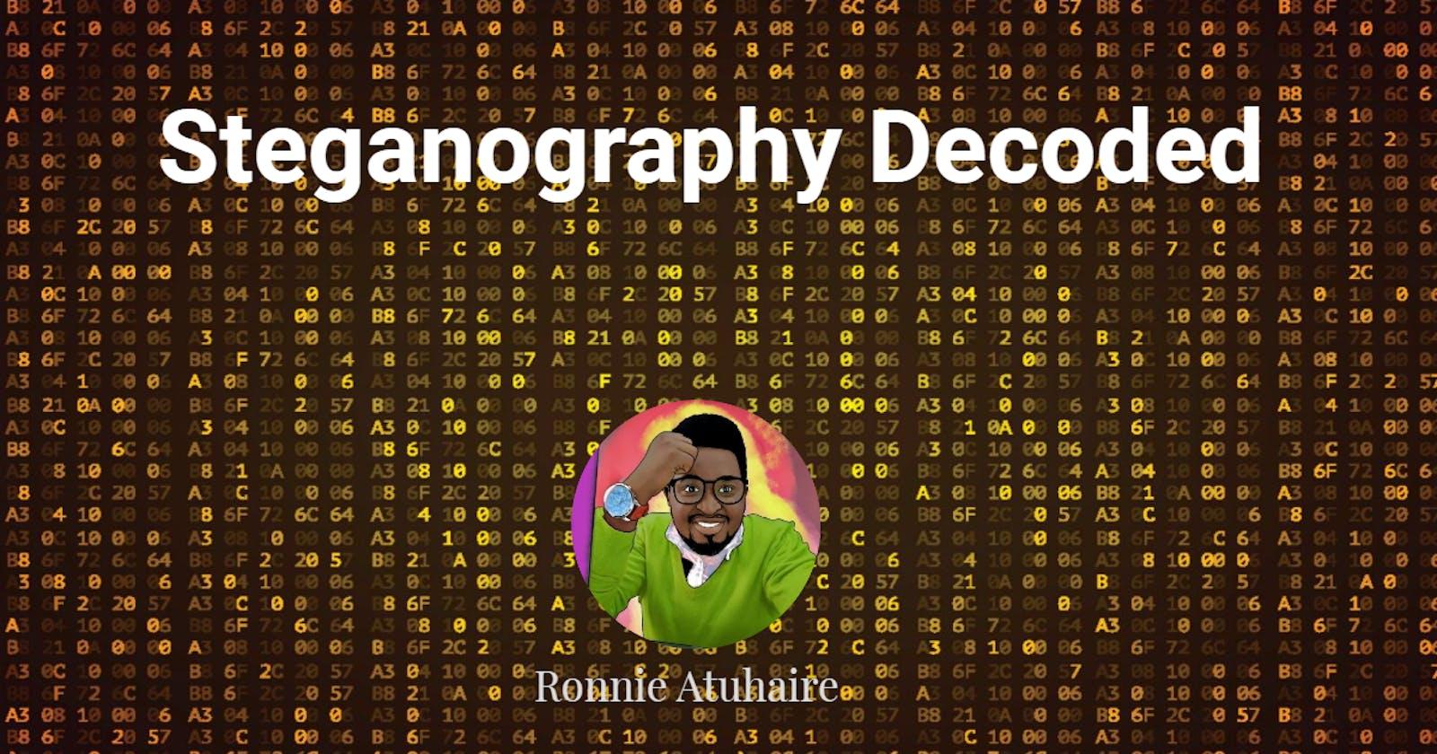 Steganography Decoded