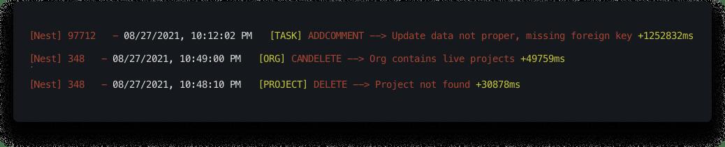 Custom Error Messages