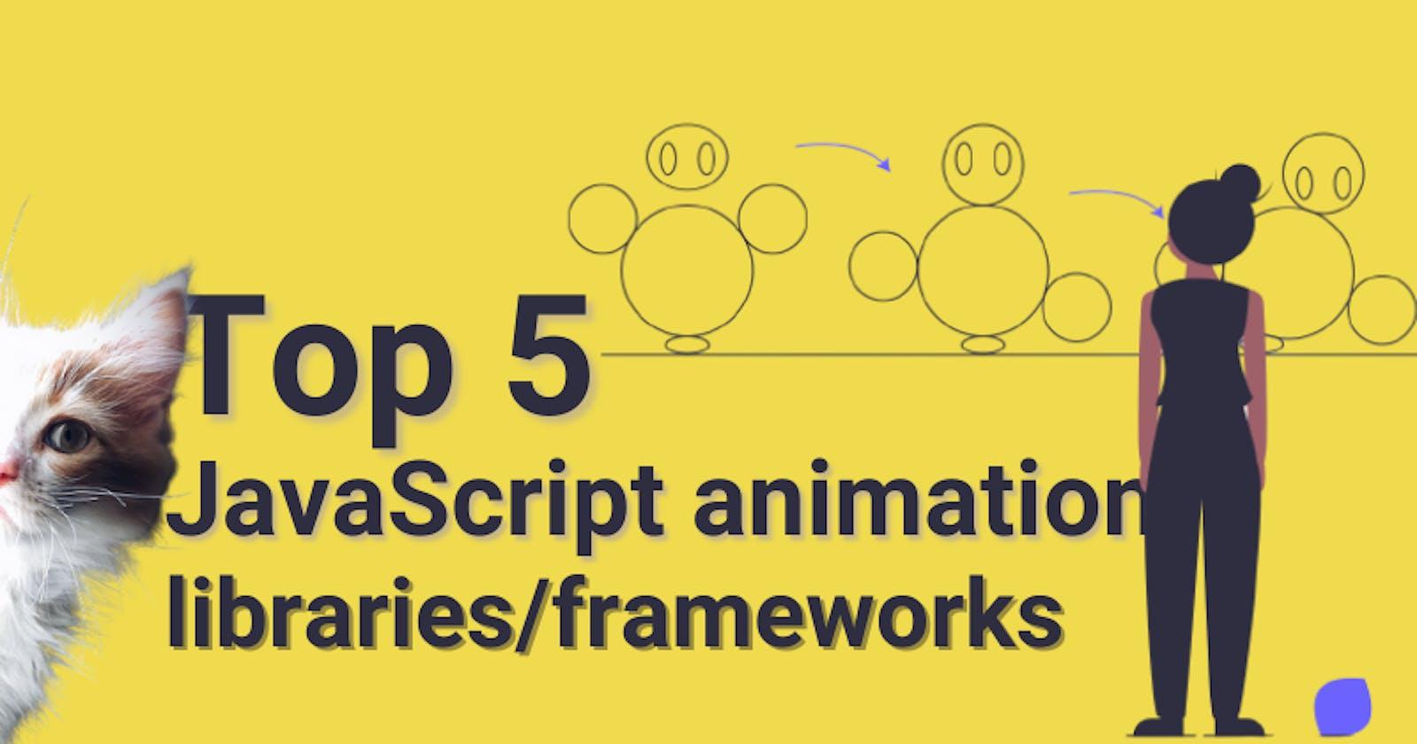 Top 5 JavaScript animation libraries 2021