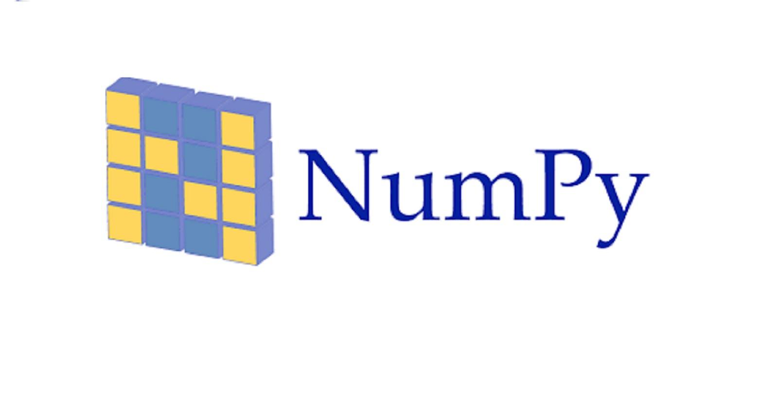 Numpy Basics for Data Science