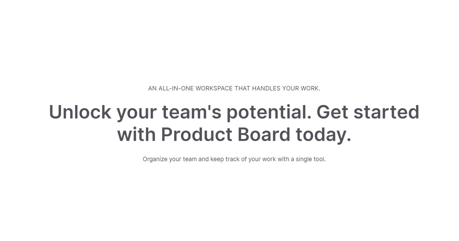 Introducing Product Board: A Project Management Platform