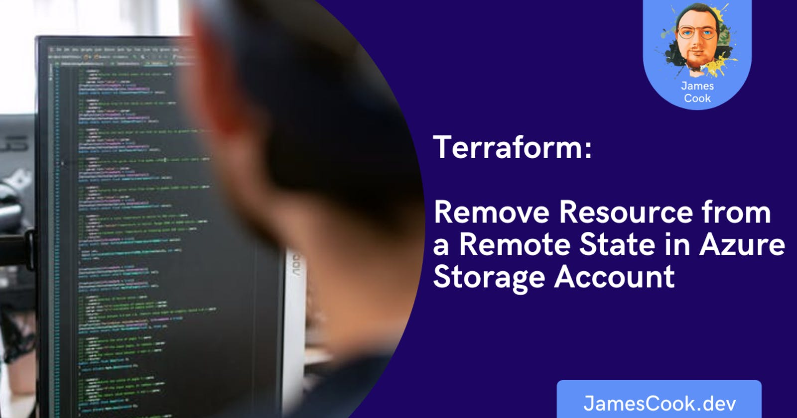 Terraform: Remove Resource from a Remote State in Azure Storage Account