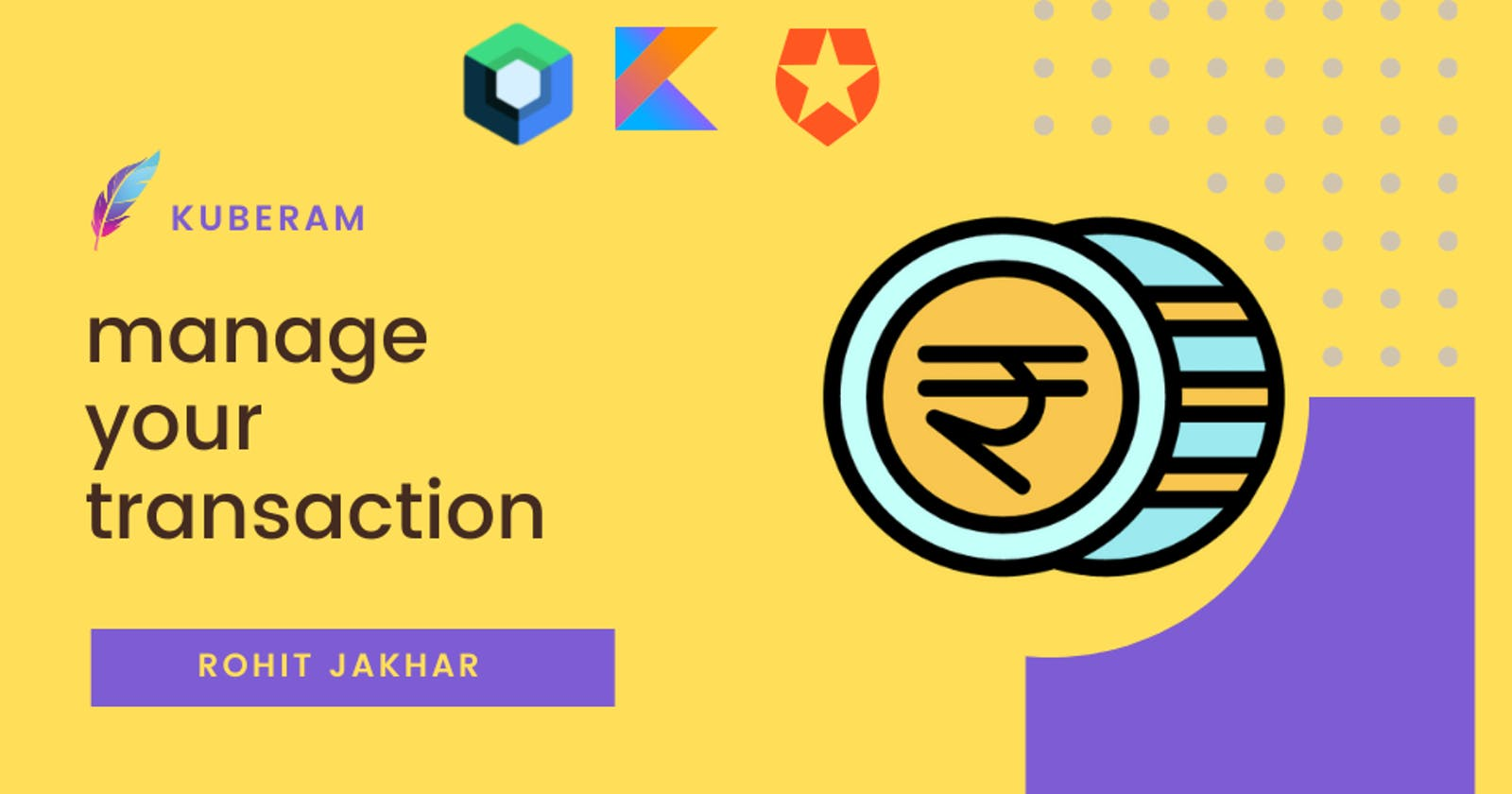 Kuberam - Manage all your transactions. Auth0 Hackathon.