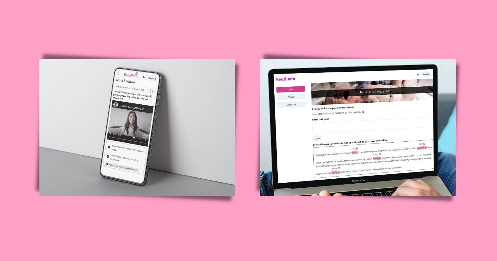Responsive on all devices