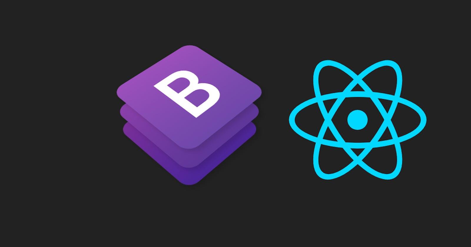 React uygulamada Bootstrap tema nasıl giydirilir.
