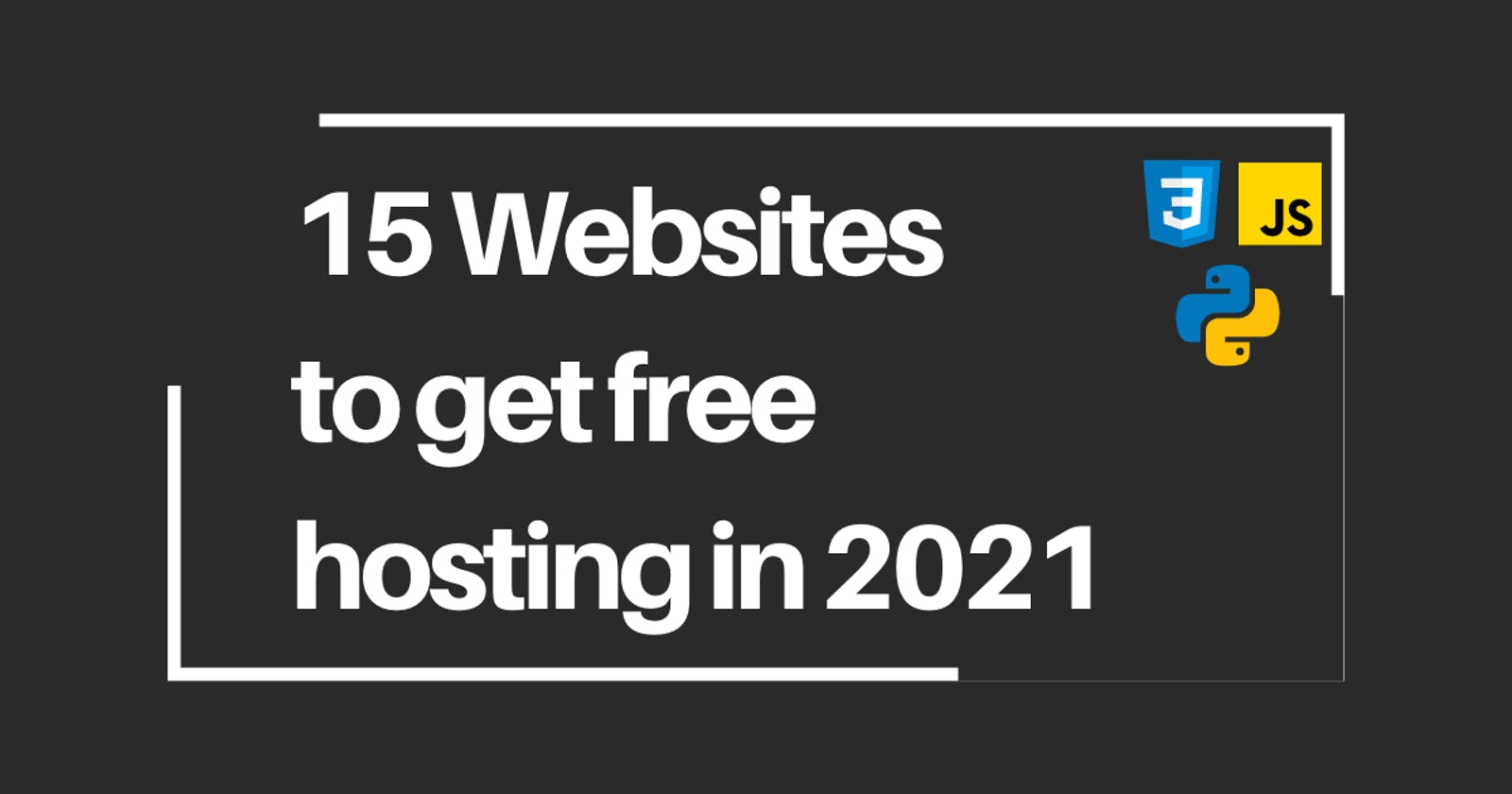 15 Websites to host your projects for free in 2021