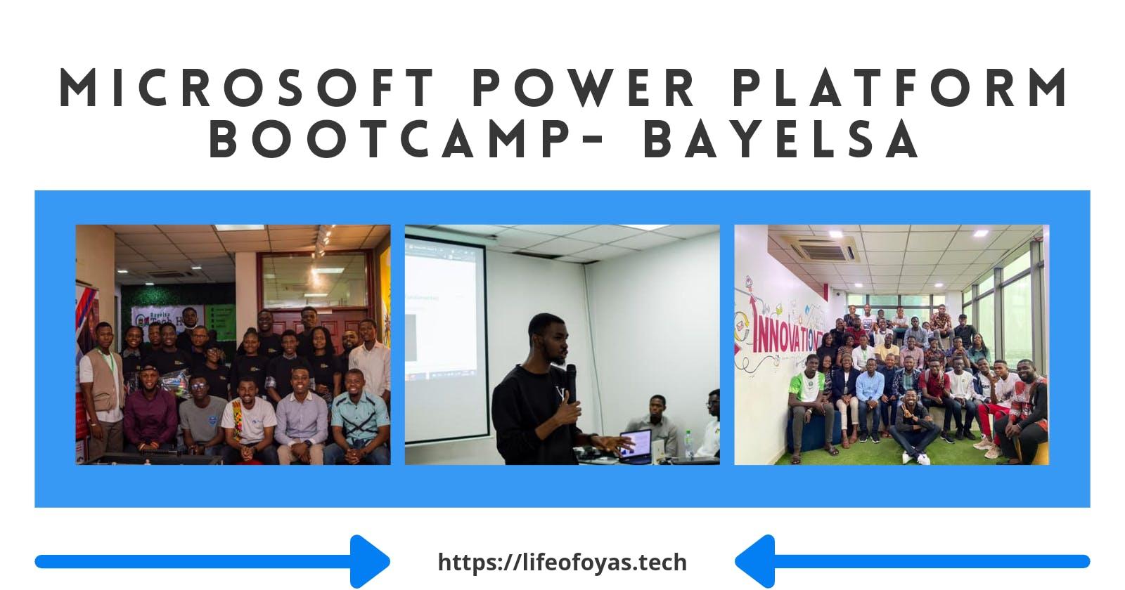 Microsoft Power Platform Bootcamp - Bayelsa