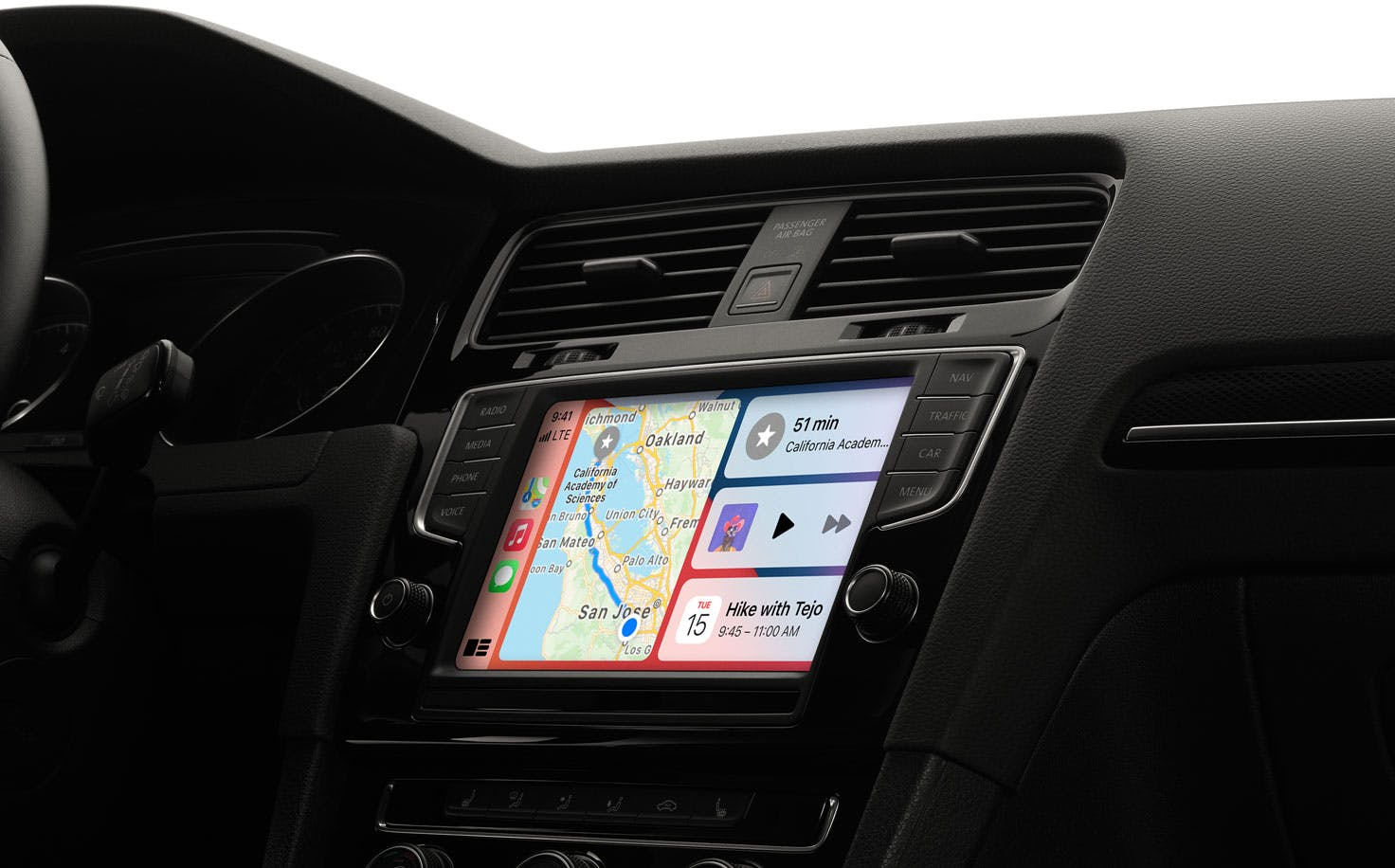 Apple CarPlay Hero Dashboard