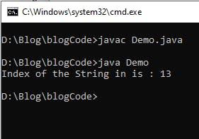 java-indexOf(String str, int start).png