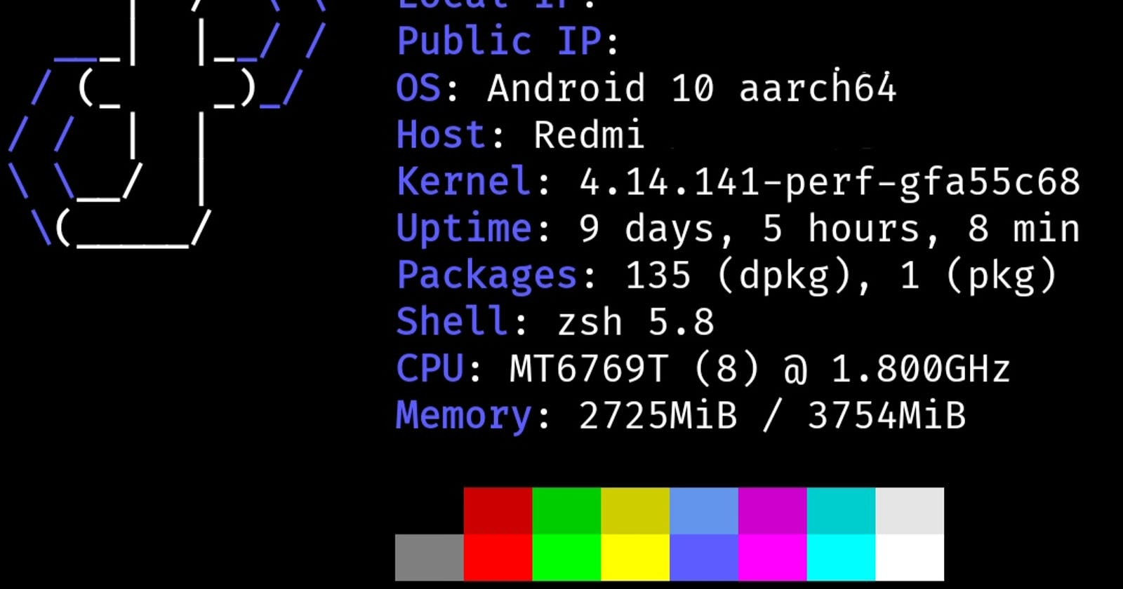 Setting up ZSH on Termux