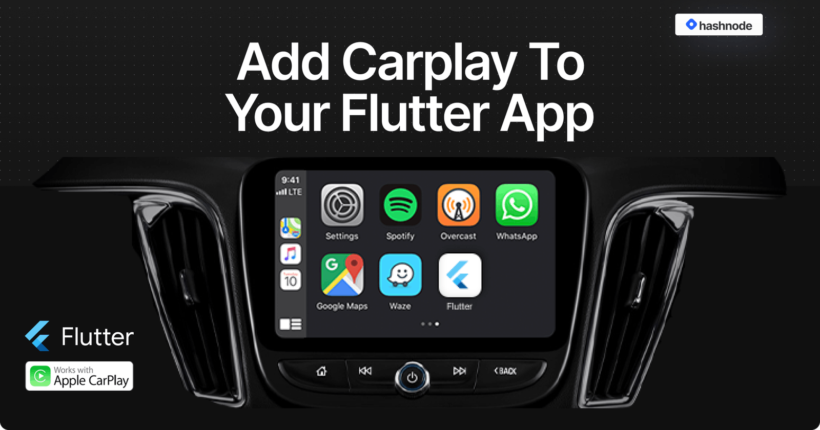 Add CarPlay to your Flutter App 🚗
