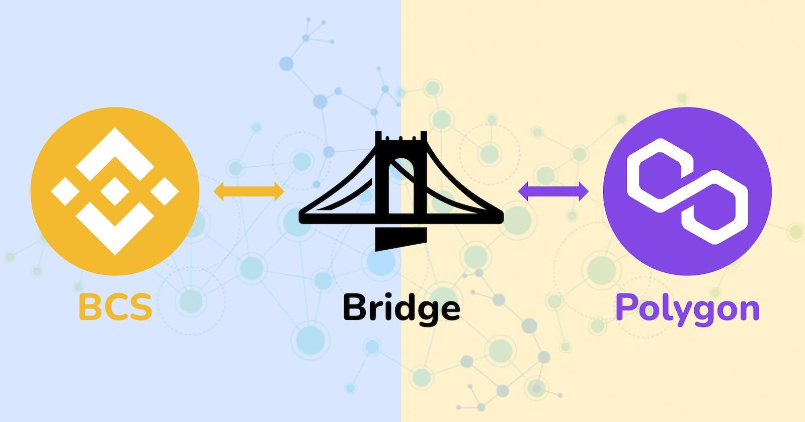 BSC - Polygon Centralized Token Bridge