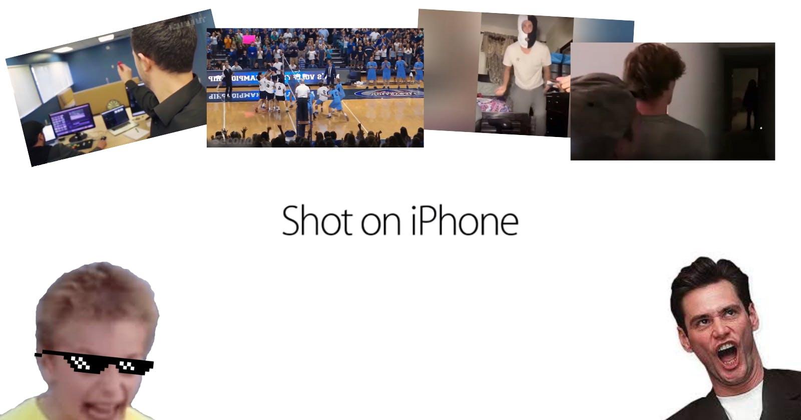 I made a Shot on iPhone Meme API! ✨😂
