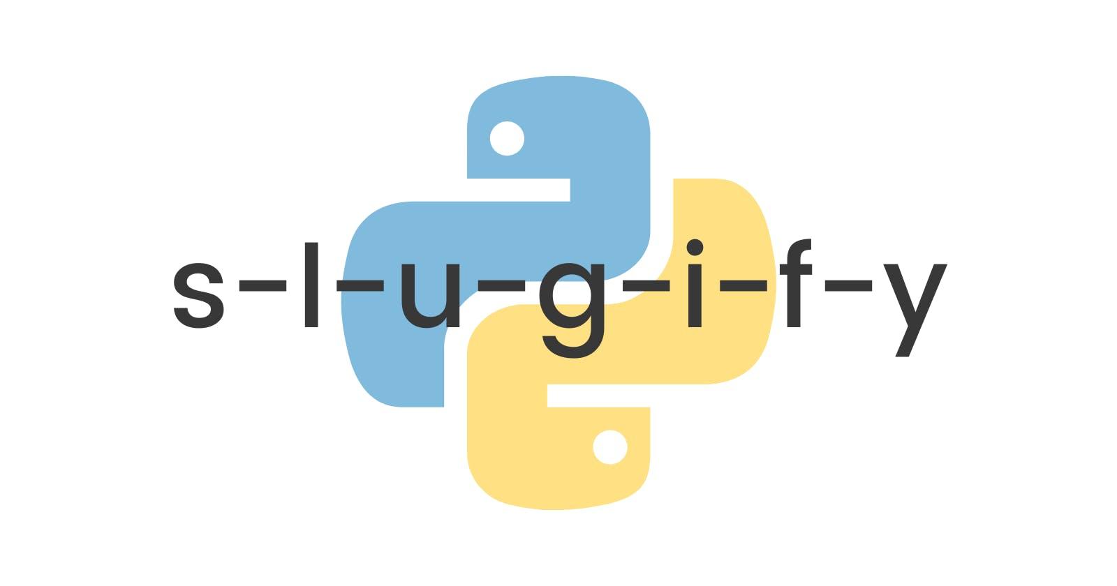Python program to make text URL safe.