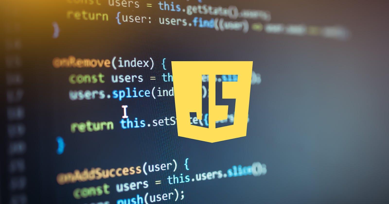 Basic grammar of JavaScript