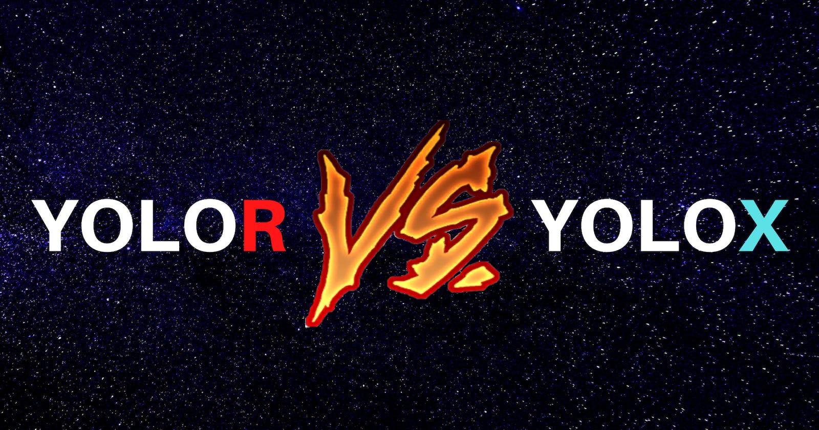 YOLOR vs YOLOX: Battle Of The Object Detection Prodigies