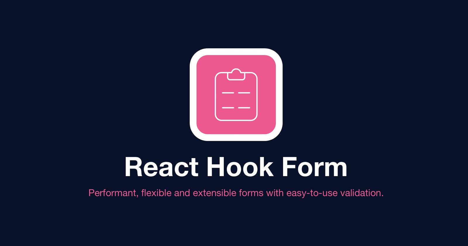 Validating form input fields in React using react-hook-form and yup