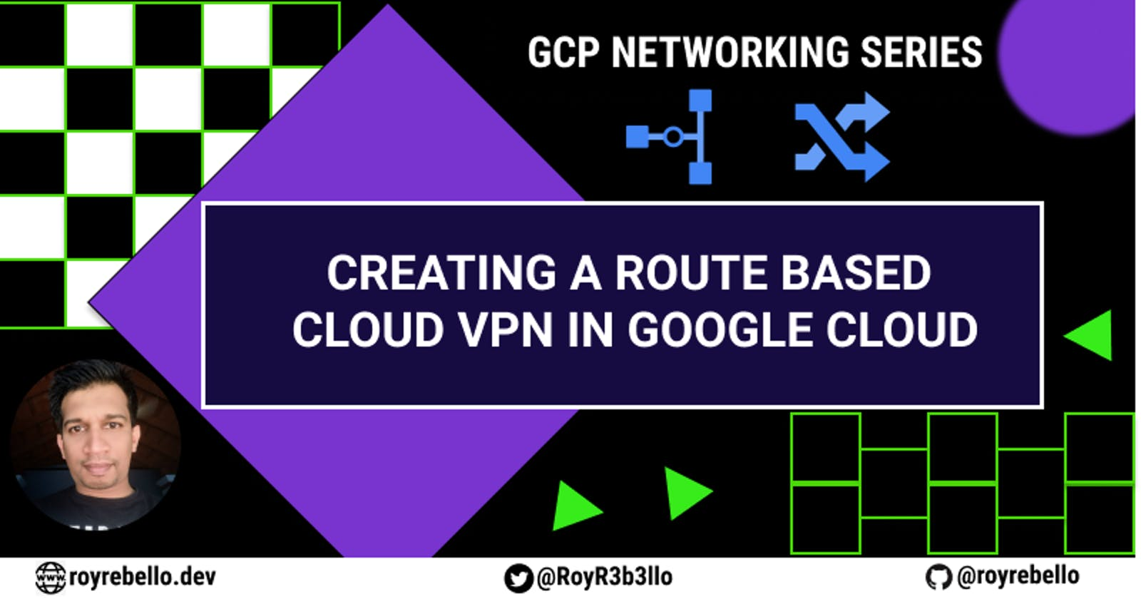 Creating a route based Cloud VPN in GCP