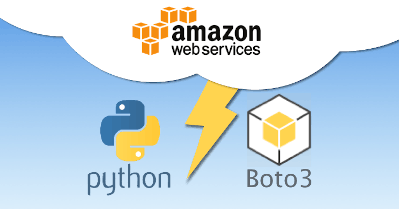 Creating AWS resources using Boto3 for deploying Django project