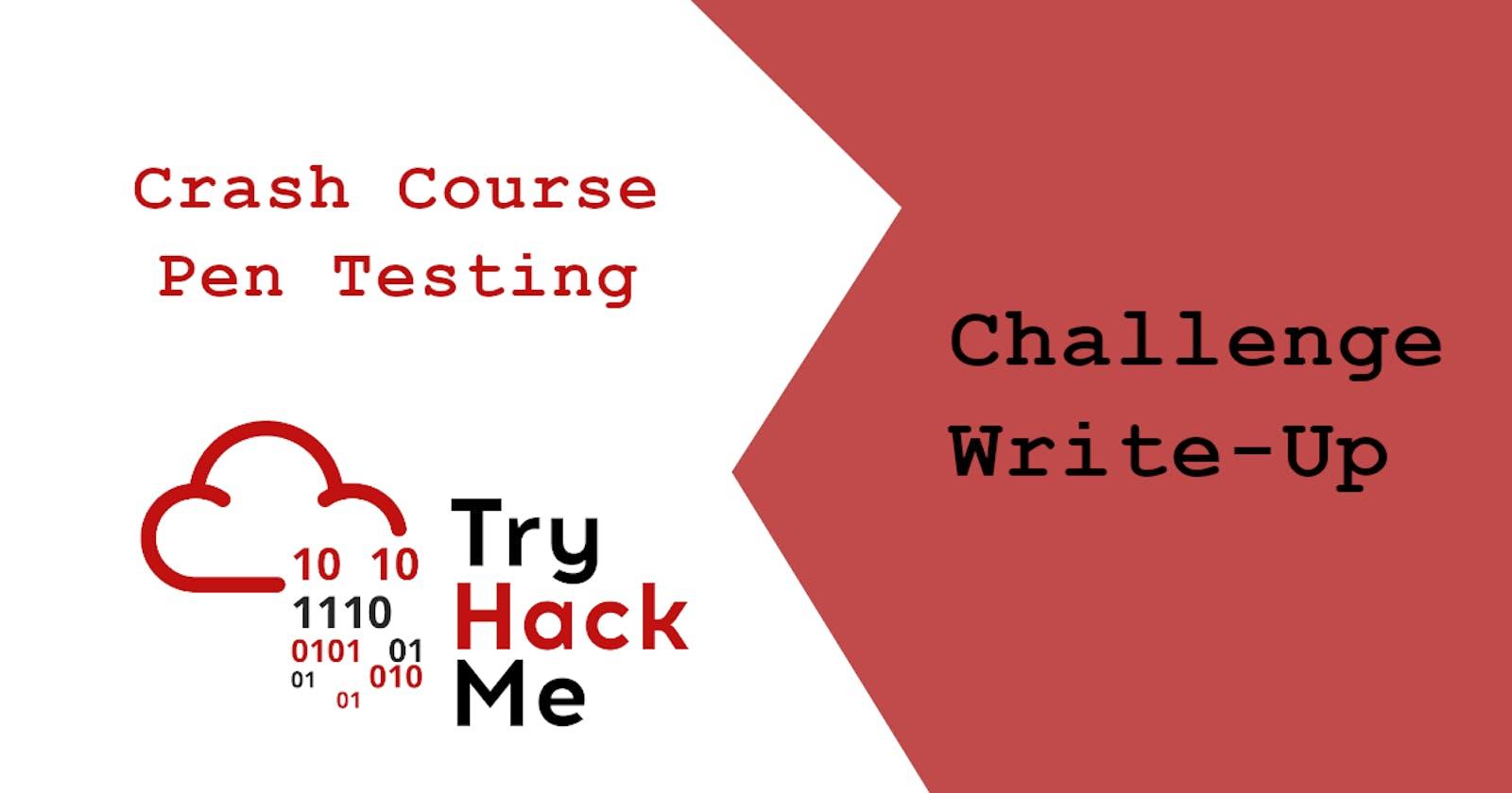 THM: Crash Course Pen Testing
