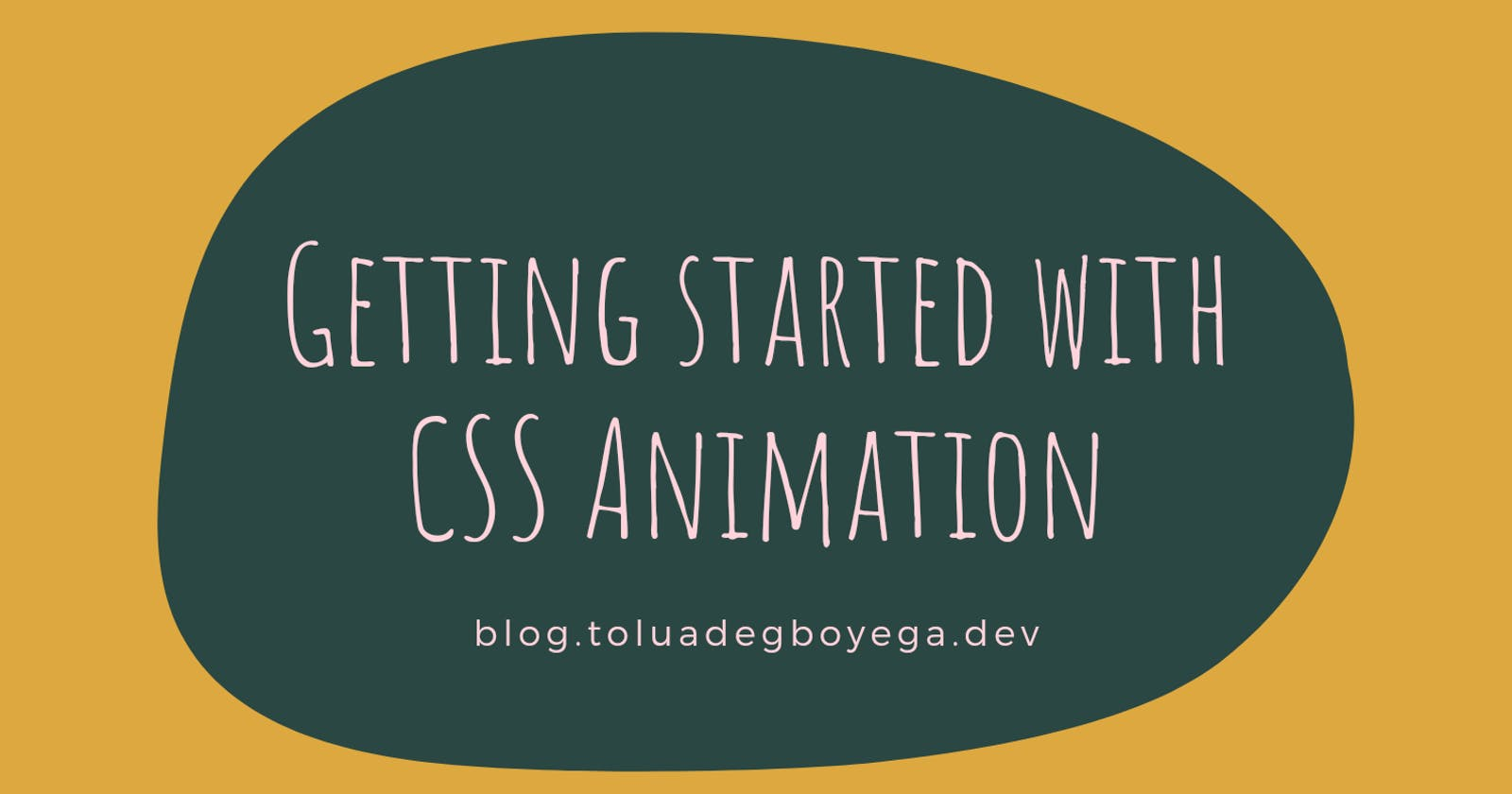 Getting Started with CSS Animation