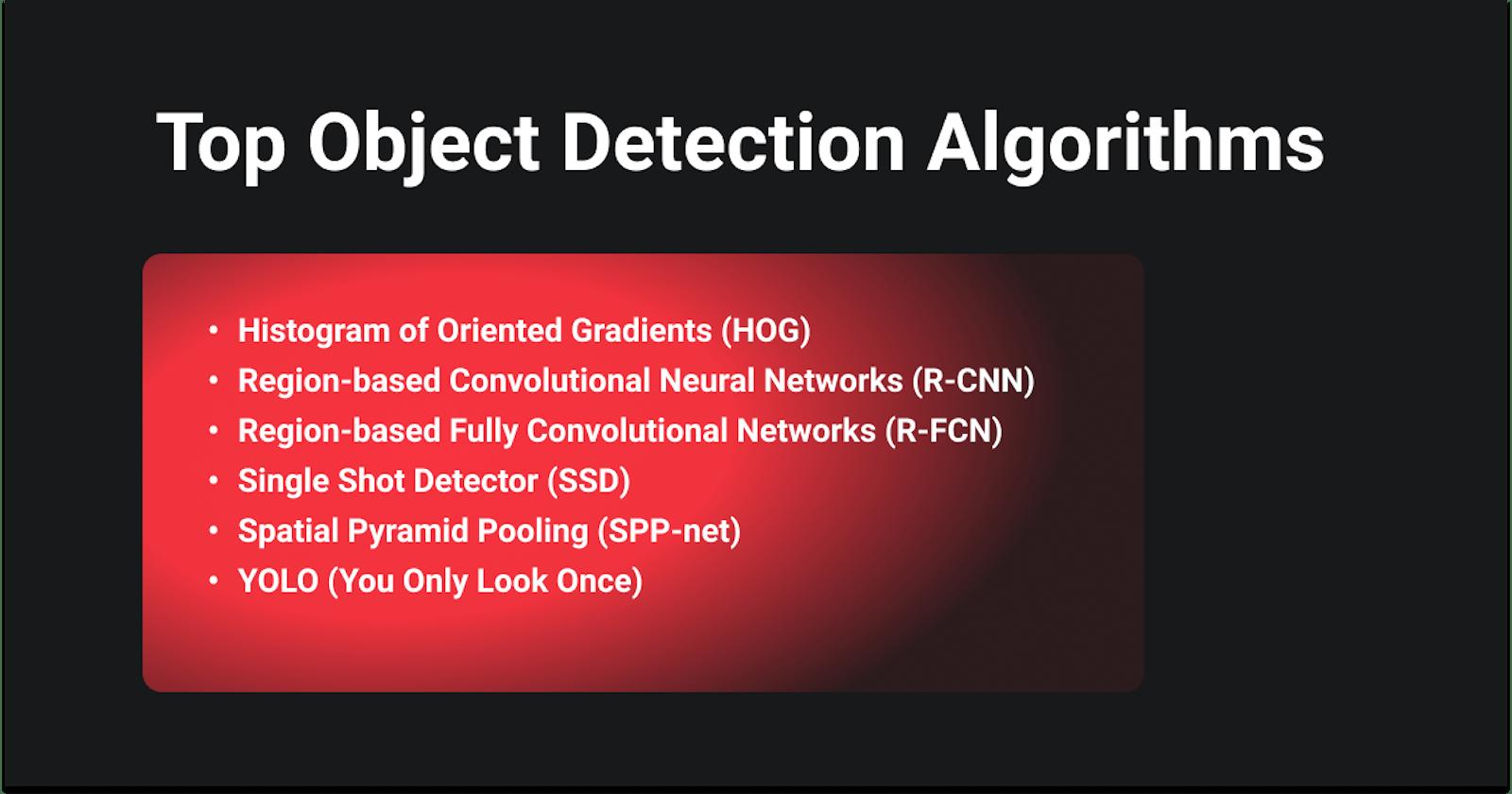 Top Object Detection Algorithms