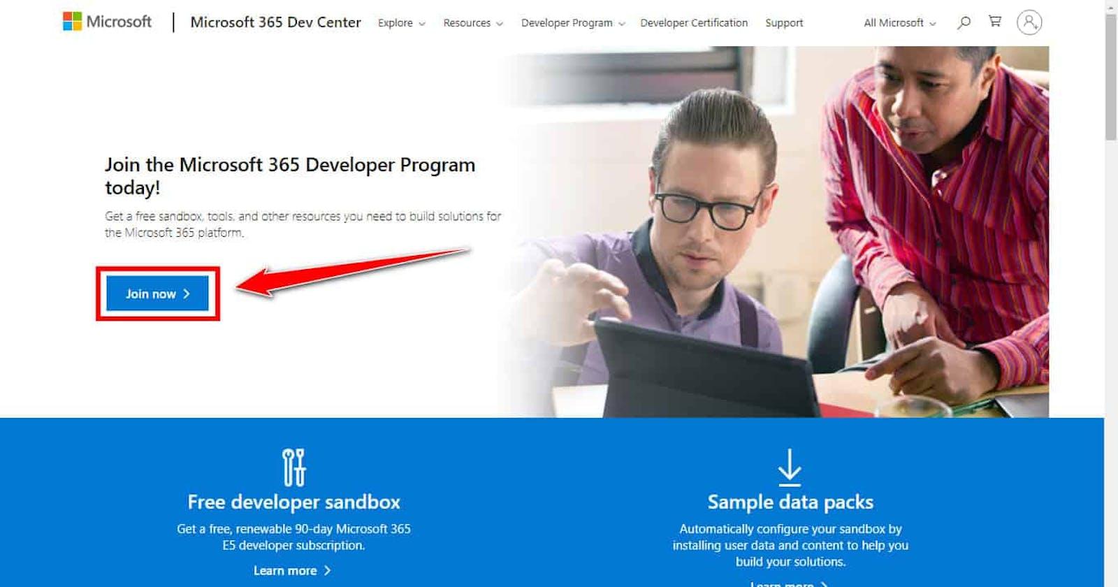 Hướng dẫn đăng ký gói Office 365 tự gia hạn cho Developer
