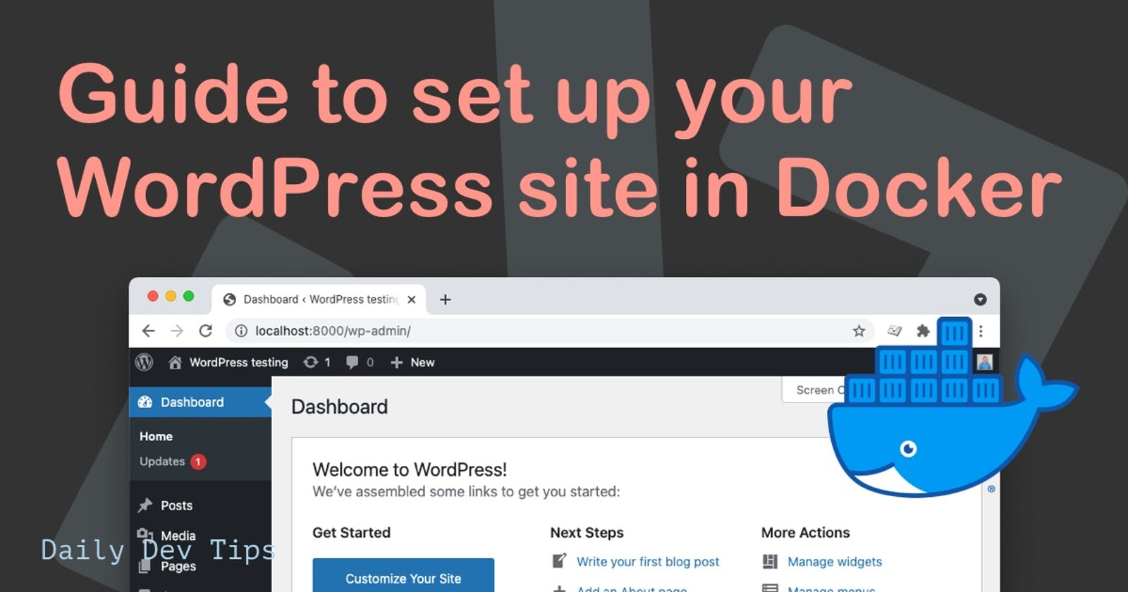 Guide to set up your WordPress site in Docker