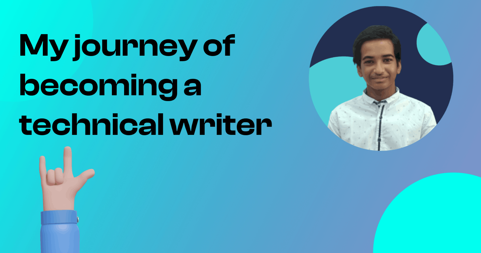 My journey of becoming a technical writer