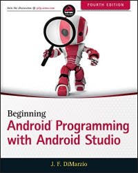 Beginning Android Development with Android Studio Book
