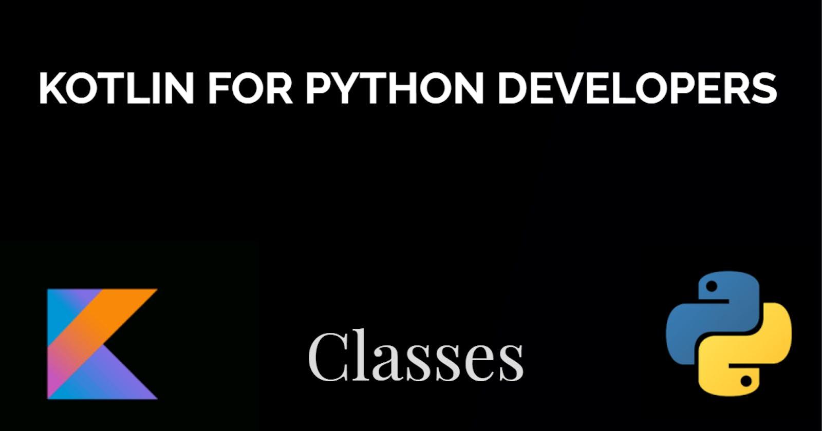 Kotlin Classes