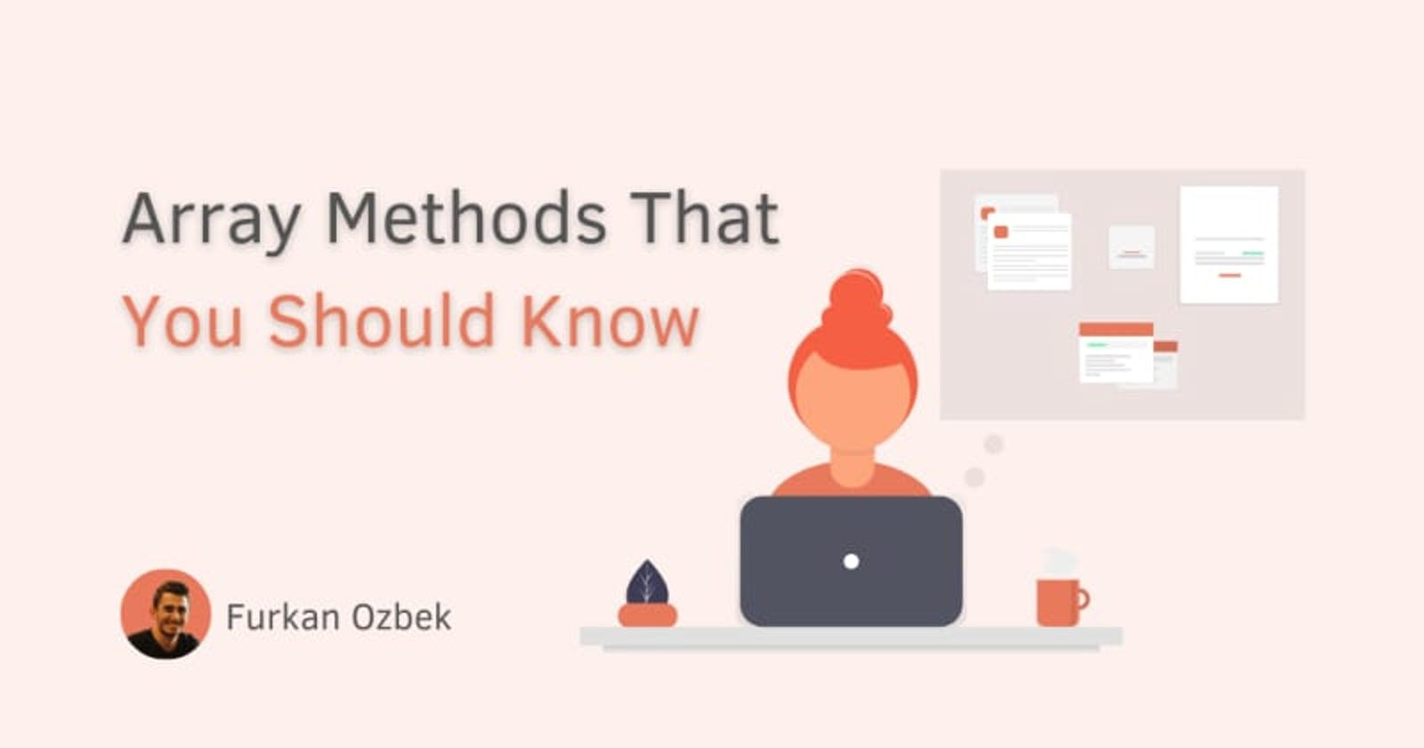 Array methods that you should know