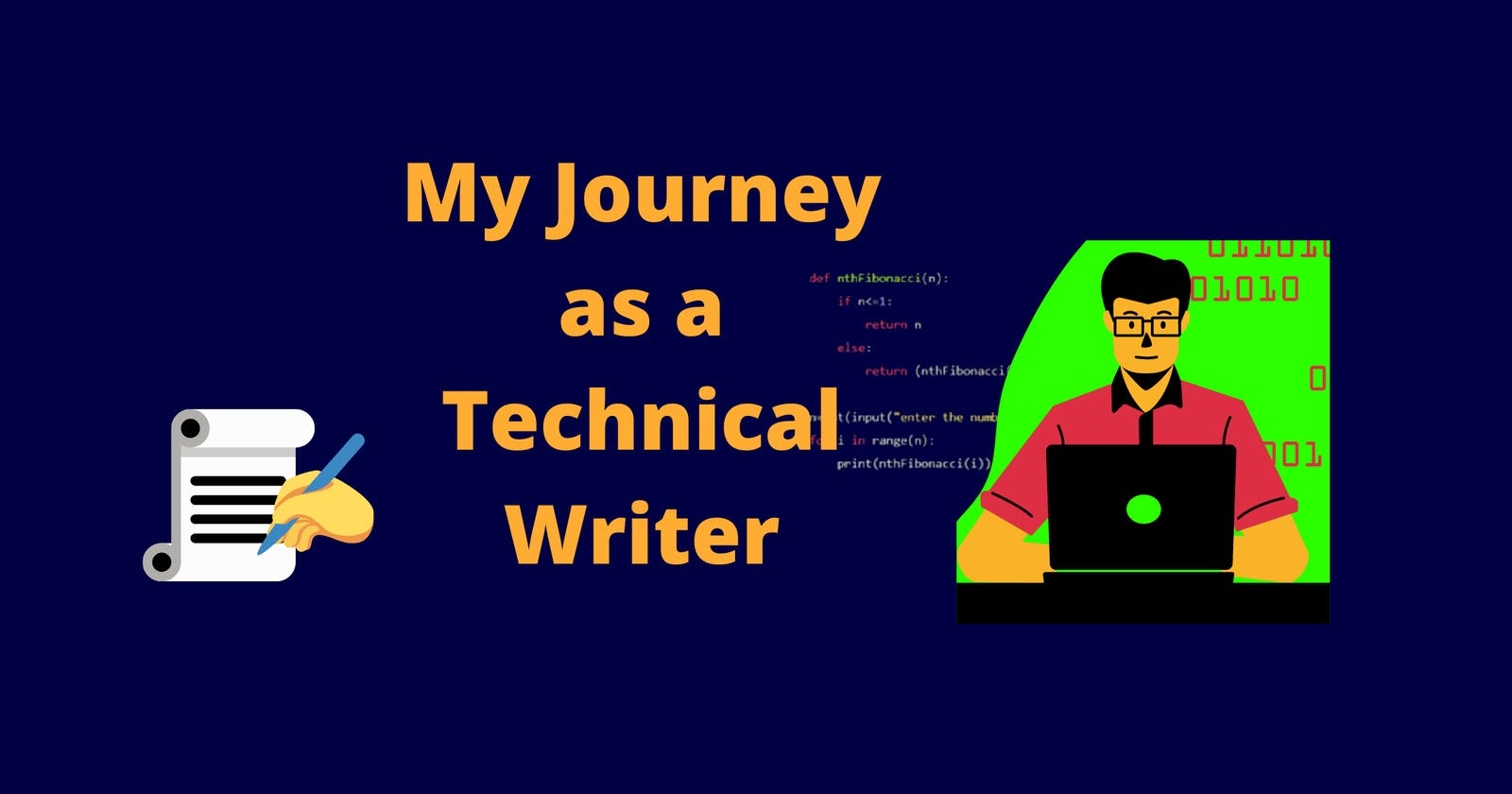 My Journey as a Technical Writer.