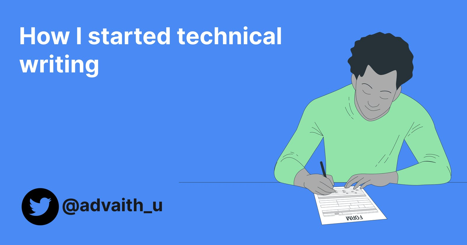 How I started technical writing