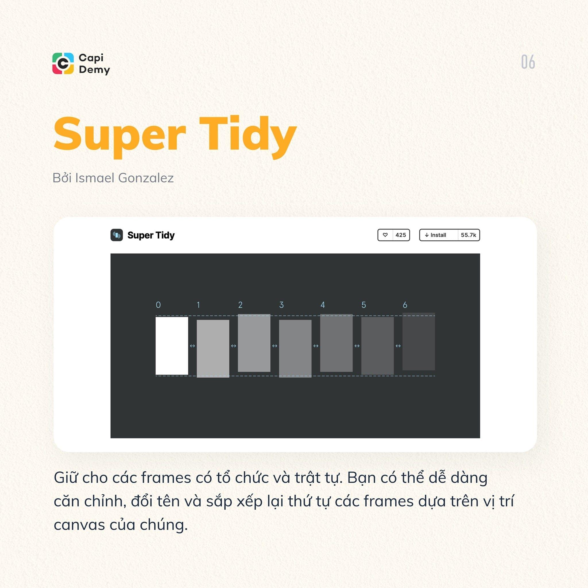 6 FIGMA PLUGINS BẠN NHẤT ĐỊNH PHẢI THỬ - Super Tidy