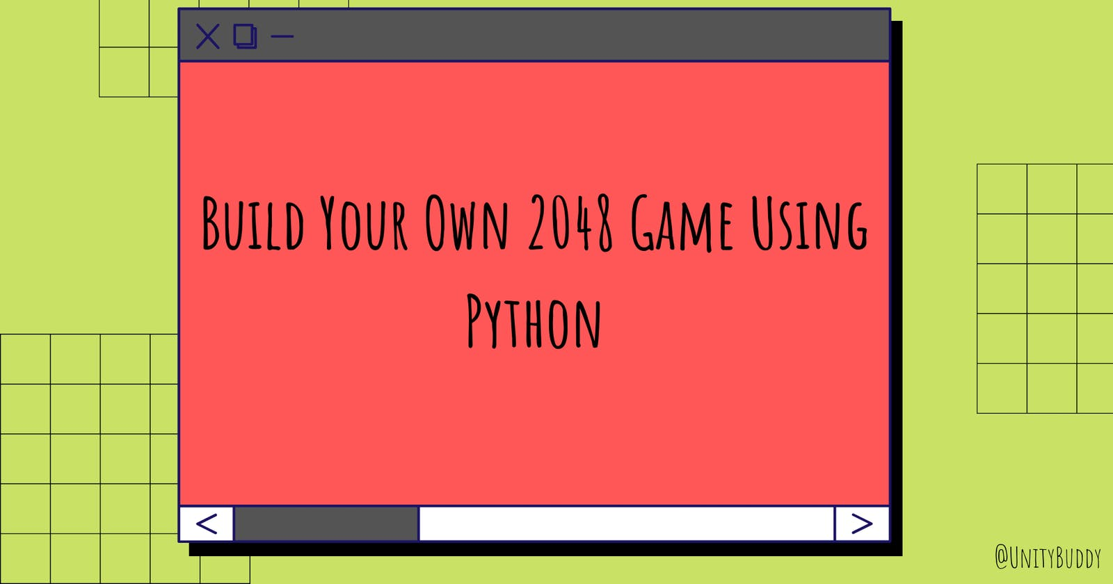 Build Your Own 2048 Game Using Python