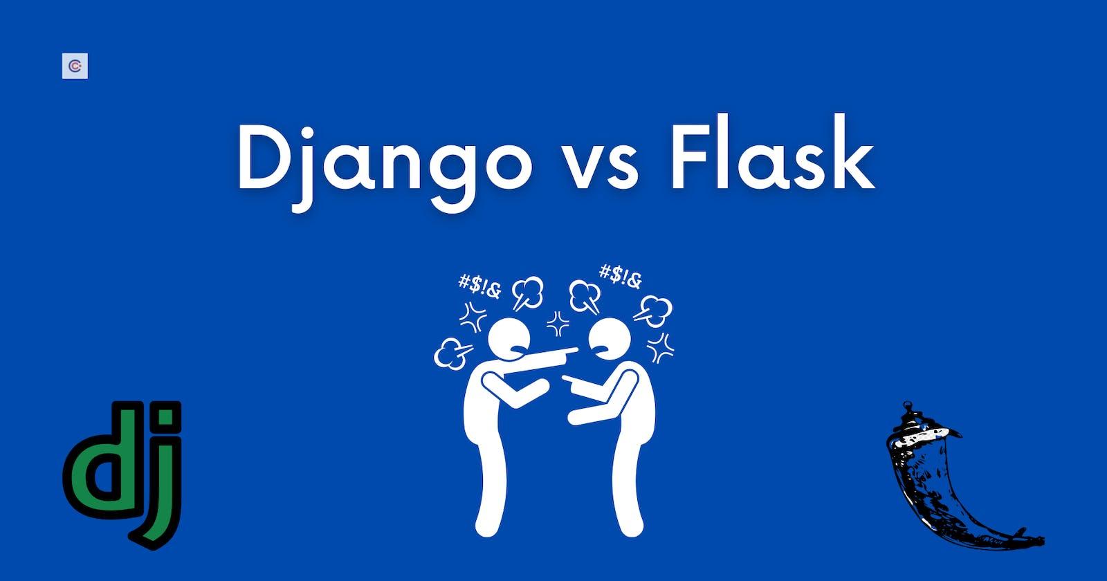 Django vs. Flask? Which one should you pick?